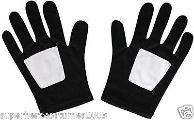 The Ultimate Spider-Man Black Suited Classic Child Gloves New Rubies 35632 - Black Spiderman Gloves