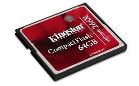 Kingston Compact Flash CF card 64gb