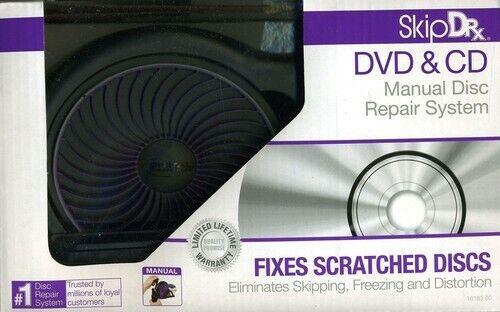 Digital Innovations 1018300 SkipDr Manual CD & DVD Disc Repair System