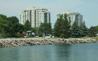 Barrie Waterfront - 2 parking spots and locker included.