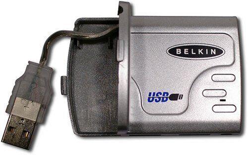 Belkin 4 Port USB Compact Travel Hub For PC Windows Computer