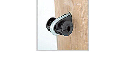 Wood Fence Post Staple Insulators For Finish Line And Wire Fence W Staple 100pk