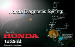 Honda diagnostique syteme