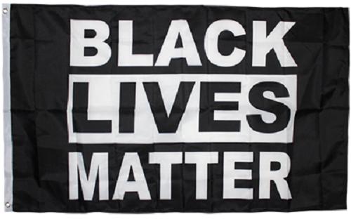 3x5 Black Lives Matter Black Activist 100D Flag 3'x5' Brass