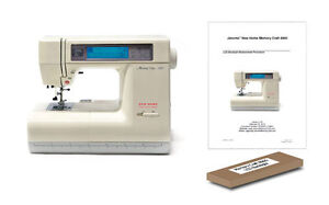 Janome 8000 crafts ebay for Janome memory craft 9000 problems