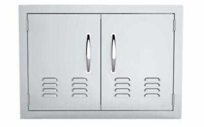 "30"" Double Access Doors Flush Mount with Vents"