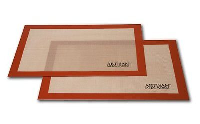 BEST SELLER! Artisan (2 pk.) Non-Stick Silicone Baking Mat Set, 16 5/8 x 11