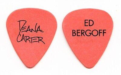 Deana Carter Ed Bergoff Orange Guitar Pick 1996 Tour