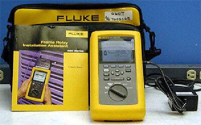 Fluke 660t Frame Relay Installation Assistant Tester Kit W660m-t1 Module