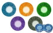 Blue Contact Lense