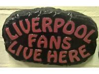 Football fan plaque - handmade, brand new, ideal Christmas gift Man Utd, Liverpool, Chelsea, England