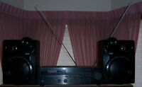 YAMAHA STEREO RX-300U & RCA SPEAKERS