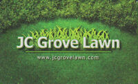 JC Grove Lawn Ltd. Giving you the personal touch
