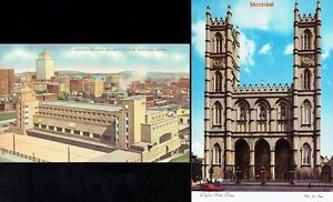 Ten Unused 'Montréal, Quebéc' Post Cards + Two Souvenir Folders Kingston Kingston Area image 3