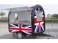 Catering Trailer - Multi purpose £4350 - internal size 2.2m long x 1.6m wide 2.1m high - 300 Kg