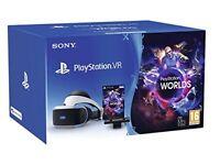 PlayStation VR Starter Pack (Headset + Camera + Demo games)