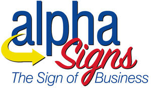 Alpha mobile signs