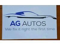 AG Autos Mobile Mechanic service repair mot diagnostic