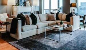 Deco-Rest Canadian made modular sectional (grey)