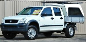 2006 Holden Rodeo RA MY06 Upgrade LX (4x4) White 5 Speed Manual Crewcab Lismore Lismore Area Preview