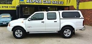 2008 Nissan Navara D22 MY2008 ST-R White 5 Speed Manual 4D UTILITY Upper Ferntree Gully Knox Area Preview