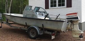 Well used Boston Whaler