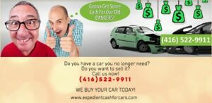 Scrap Cars For Cash - We'll buy it today!