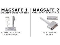 Apple MacBook Charger, MagSafe1 and Magsafe2 Compatible, with long Warranty