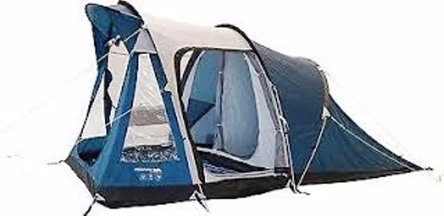 NEW Trespass Go Further 4 Man 2 Room Family Tent sewn in ground sheet - pictures  sc 1 st  Gumtree & NEW Trespass Go Further 4 Man 2 Room Family Tent sewn in ground ...