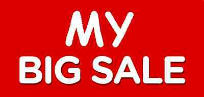 My Big Sale