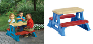 Toddler-Preschool Picnic Table (NEW)