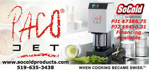 Pacojet 1 in your kitchen! LEASE FOR $169.25 NOTHING DOWN! PJ1