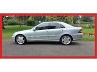2004 Mercedes-Benz C Class 2.1 C200 CDI Elegance SE 4dr --- Automatic --- Hpi Clear --- Mercedes