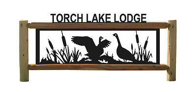 GOOSE SIGN - GEESE - WATERFOWL
