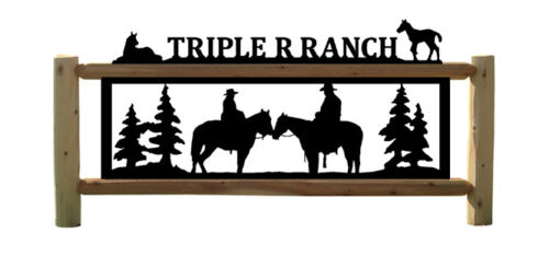 PERSONALIZED EQUESTRIAN SIGNS - SADDLES - HORSES