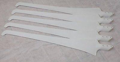 █▬█ █ ▀█▀ 5 Rotorblätter Ø2,0m Flügel Windrad Windgenerator Turbine Wasserkraft