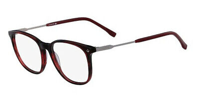 NEW Lacoste Women's Eyeglasses L2804 615 Red Plastic/Metal 52 17 145