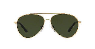 3924fb049de8 NWT Burberry Sunglasses BE 3092Q 1145 71 Light Gold   Green 57 mm 114571 NIB