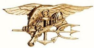 US NAVY SEALS USN Marine Uniform INSIGNIA badge pin Metallabzeichen