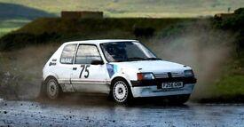 Peugeot 205 Rally Car