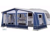 DOREMA Star Camp CAMEO Full Awning Blue & Grey 2 Years old