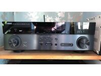 Yamaha RX- A670 plus tannoy 100w surround sound speaker system.