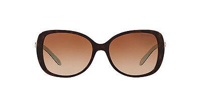 TIFFANY & CO Sunglasses TF 4121B 8134/3B Havana Blue/Brown Gradient 55 mm 81343B