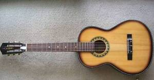 Vintage TEMPO  ¾ size Acoustic Guitar 1960s - Made in JAPAN for R Wodonga Wodonga Area Preview
