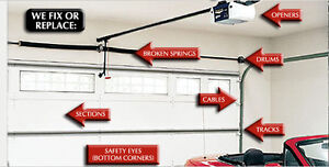 Garage door sales,service,&installs780-707-3756.LOW PRICE. Edmonton Edmonton Area image 2