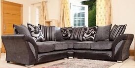 **BANK HOLIDAY SALE -FREE STORAGE POUFFE** DFS SHANNON CORNER /3+2 SOFA OR CUDDLE CHAIR