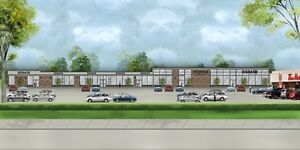Prime Commercial Space Available in Brantford(1000 SF & 2617 SF)