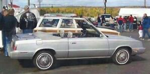 1984 Chrysler LeBaron Mark Cross Edition