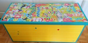 Dr. Seuss Soft-Close Toy Box Upcycled
