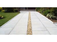 Budget garden landscape services flagging fencing turfing blockpaving grass cutting hedges gates ..